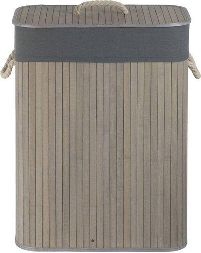 Bamboo basket gray J702 + lining
